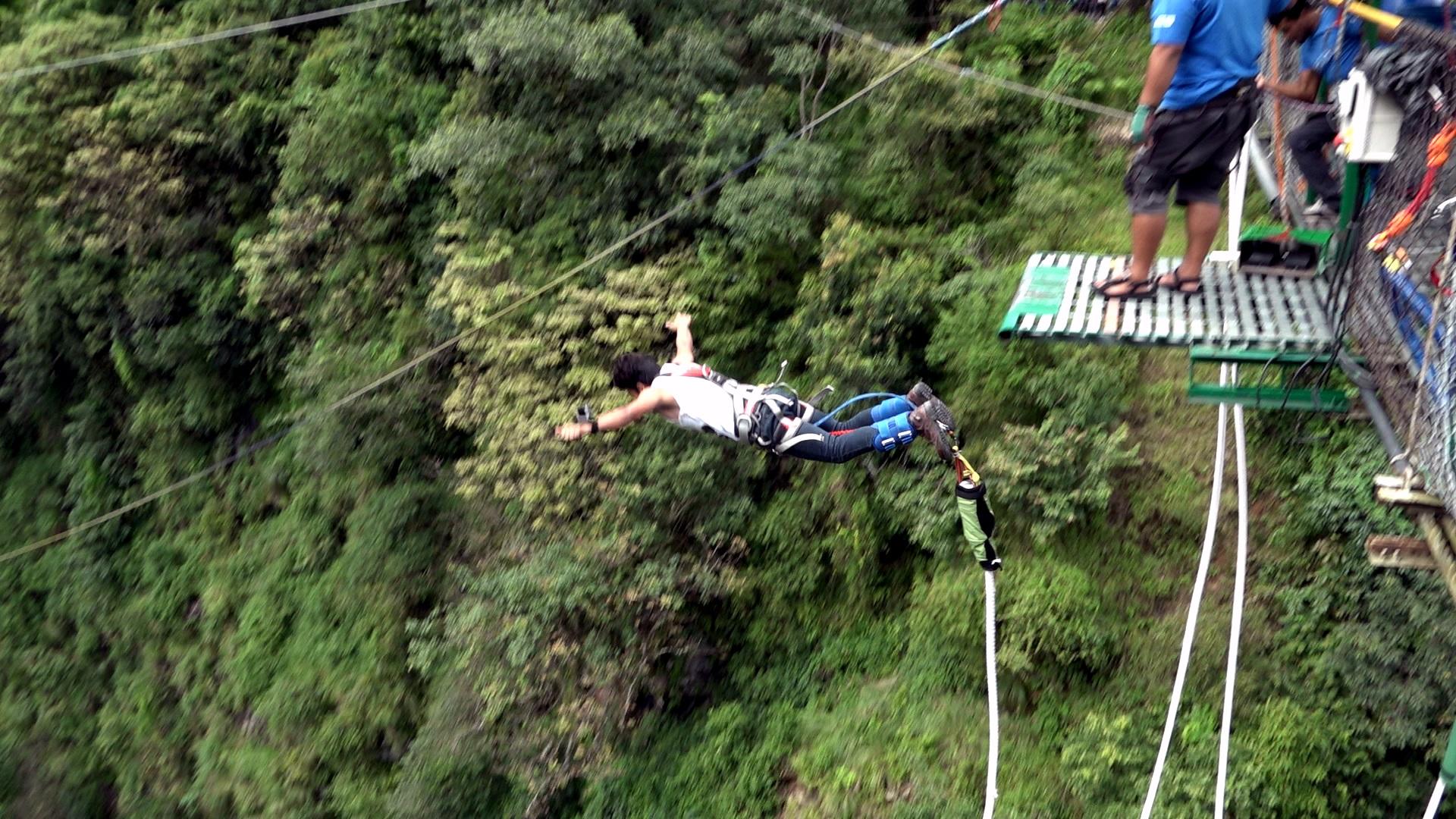 Sunil Bungee Jump